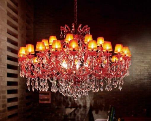 Asfour Crystal 6631-71″ 42 Light Pendant